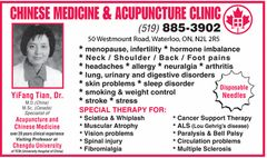 Chinese Medicine & Acupuncture Clinic ad